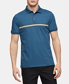Men's Engineered Stripe Polo Shirt