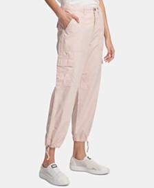 DKNY Cotton Cargo Jogger Pants