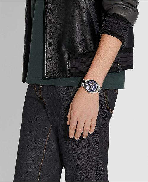 c25d8a7d0 COACH Men's Chronograph Thompson Sport Stainless Steel Bracelet Watch ...