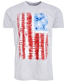Heathered Flag Men's Graphic T-Shirt