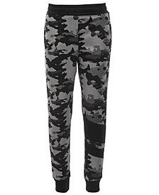 Ideology Little Boys Camo-Print Jogger Pants, Created for Macy's