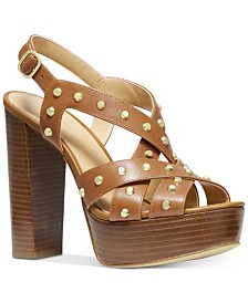 MICHAEL Michael Kors Audrina Platform Dress Sandals