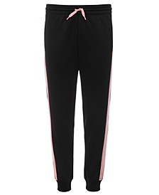 Big Girls Colorblocked-Side Track Pants, Created for Macy's
