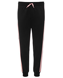 Ideology Big Girls Colorblocked-Side Track Pants, Created for Macy's
