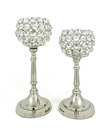 Hurricane Candle Holders Set of 2