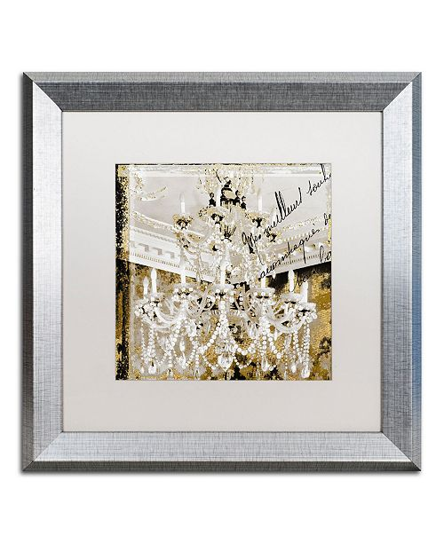 """Trademark Global Color Bakery 'Chand 2' Matted Framed Art - 16"""" x 16"""""""