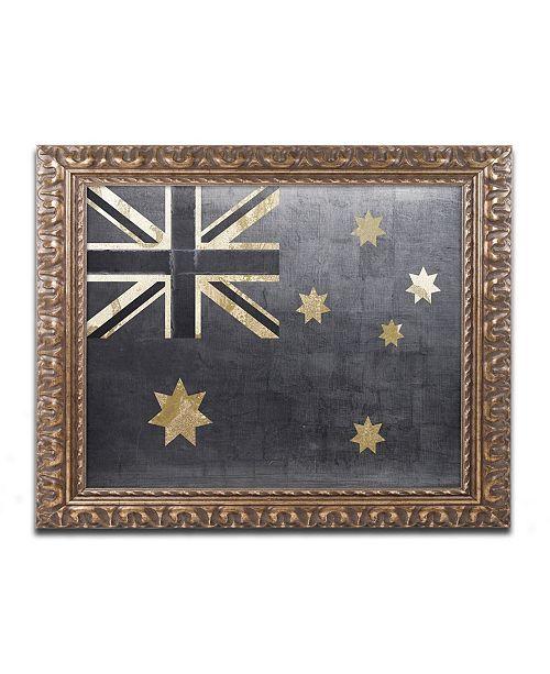 "Trademark Global Color Bakery 'Fashion Flag III' Ornate Framed Art - 16"" x 20"""
