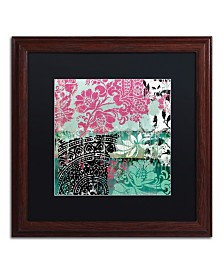 """Color Bakery 'Serendipity II' Matted Framed Art - 16"""" x 16"""""""