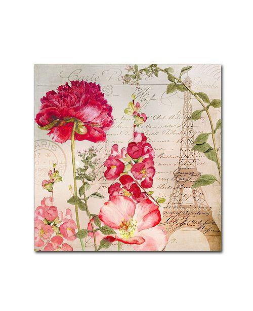 "Trademark Global Color Bakery 'Always Paris II' Canvas Art - 24"" x 24"""