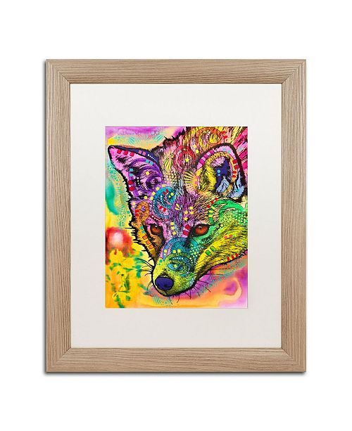 "Trademark Global Dean Russo 'Fox' Matted Framed Art - 16"" x 20"""
