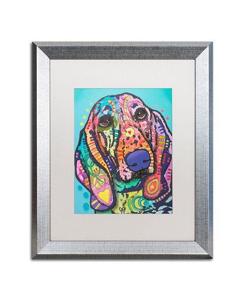 """Trademark Global Dean Russo 'Austin' Matted Framed Art - 16"""" x 20"""""""