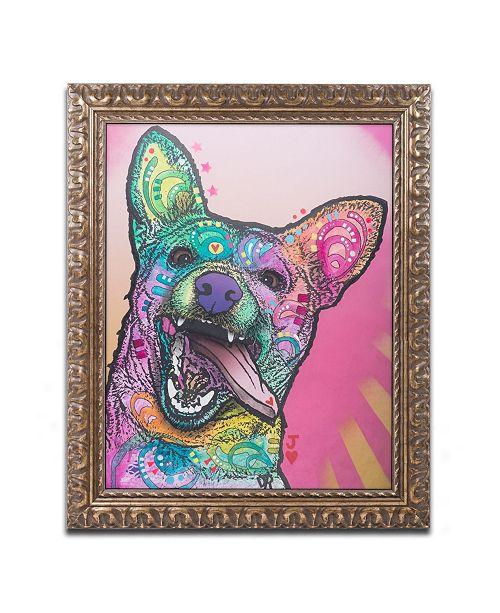 "Trademark Global Dean Russo 'Jack' Ornate Framed Art - 16"" x 20"""