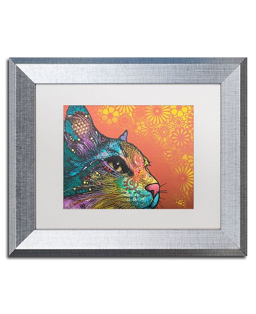 "Trademark Global Dean Russo 'Smudge' Matted Framed Art - 11"" x 14"""
