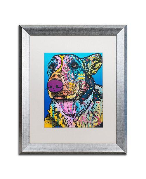 """Trademark Global Dean Russo 'Walter 12' Matted Framed Art - 16"""" x 20"""""""