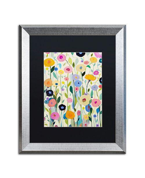 """Trademark Global Carrie Schmitt 'Songs of Joy' Matted Framed Art - 16"""" x 20"""""""