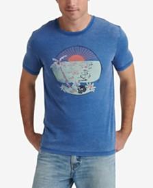 Lucky Brand Mens Skull Island Graphic T-Shirt