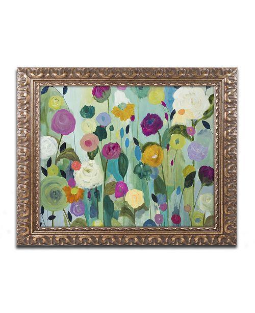 """Trademark Global Carrie Schmitt 'Soul Blossoms' Ornate Framed Art - 16"""" x 20"""""""
