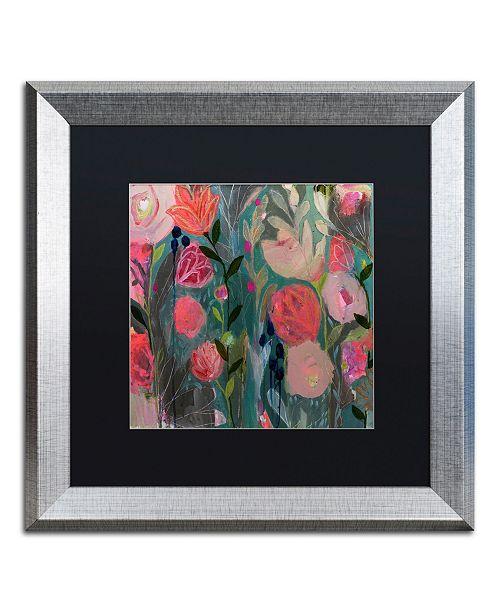 """Trademark Global Carrie Schmitt 'Midnight Wish' Matted Framed Art - 16"""" x 16"""""""