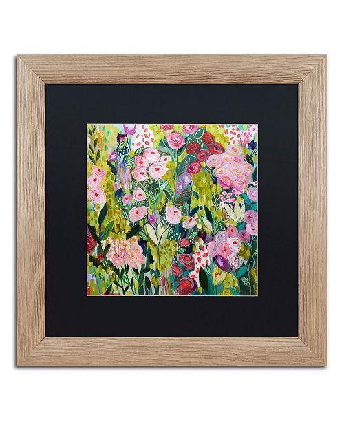 """Trademark Global Carrie Schmitt 'Illumination' Matted Framed Art - 16"""" x 16"""""""