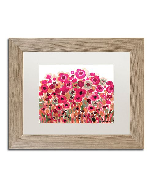 "Trademark Global Natasha Wescoat '003' Matted Framed Art - 11"" x 14"""