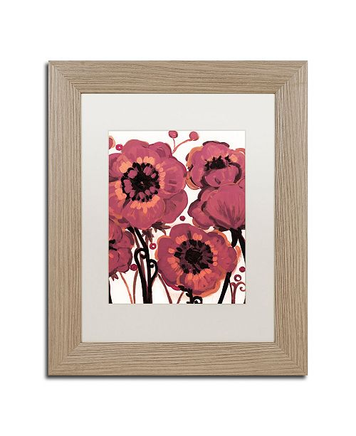 "Trademark Global Natasha Wescoat '006' Matted Framed Art - 11"" x 14"""