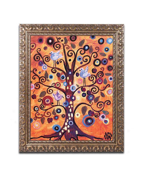 "Trademark Global Natasha Wescoat '016' Ornate Framed Art - 11"" x 14"""