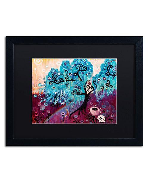 "Trademark Global Natasha Wescoat '033' Matted Framed Art - 16"" x 20"""