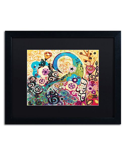 "Trademark Global Natasha Wescoat '046' Matted Framed Art - 16"" x 20"""