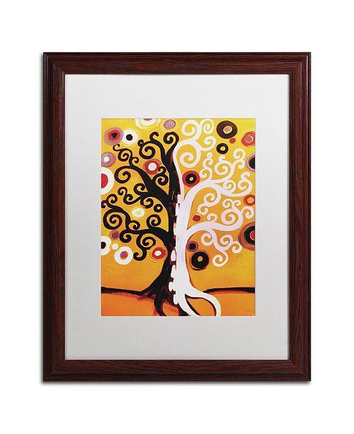 "Trademark Global Natasha Wescoat '067' Matted Framed Art - 16"" x 20"""