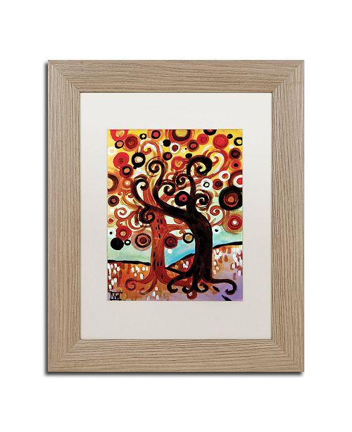 "Trademark Global Natasha Wescoat '072' Matted Framed Art - 11"" x 14"""