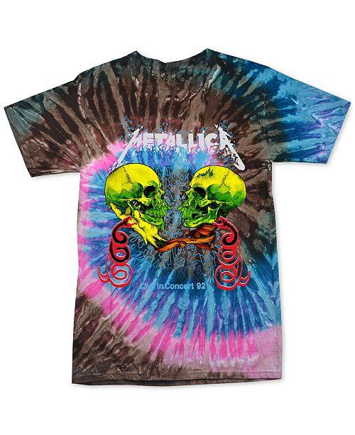 Merch Traffic Metallica Live '92 Tie Dye Men's T-Shirt