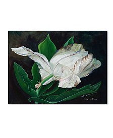 "Lily van Bienen 'Gletcher Tulip' Canvas Art - 35"" x 47"""