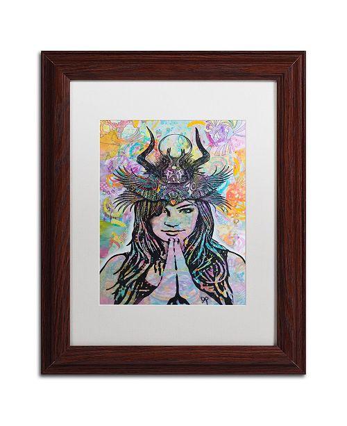 "Trademark Global Dean Russo 'Dissident' Matted Framed Art - 11"" x 14"""