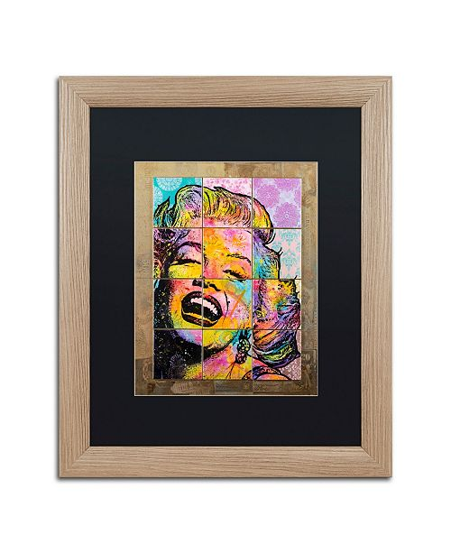 "Trademark Global Dean Russo 'Marilyn' Matted Framed Art - 16"" x 20"""