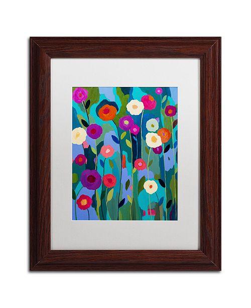 """Trademark Global Carrie Schmitt 'Good Morning Sunshine' Matted Framed Art - 11"""" x 14"""""""