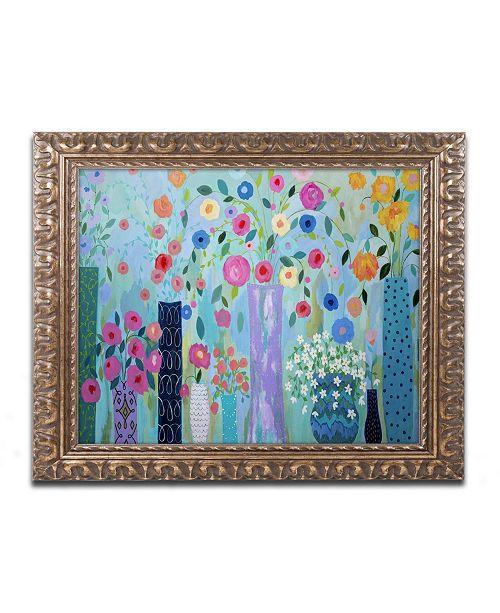 """Trademark Global Carrie Schmitt 'Magical' Ornate Framed Art - 11"""" x 14"""""""