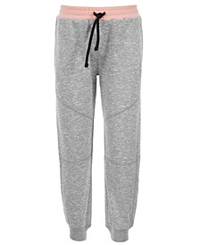 Little Girls Pieced Sweatpants, Created for Macy's