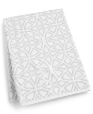 """Connections Cotton 30"""" x 56"""" Bath Towel, Created for Macy's"""