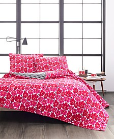 Marimekko Mini Unikko Quilt Set, King