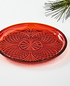 Royal Blush Glass Dessert Plate, Created for Macy's
