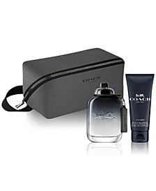 Men's 3-Pc. COACH FOR MEN Eau de Toilette Gift Set