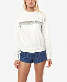 Juniors' Mavericks Cotton Graphic-Print Sweatshirt