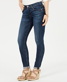 7 For All Mankind Josefina Cuffed Skinny Jeans