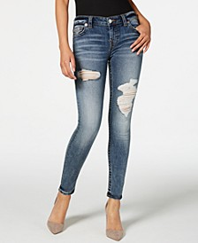 Halle Ripped Skinny Jeans