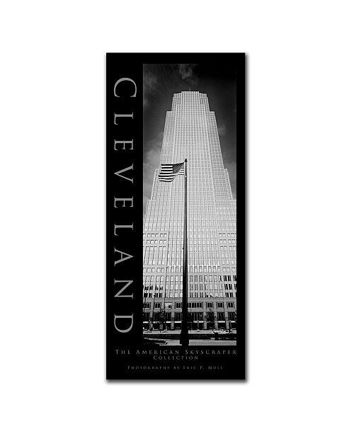 "Trademark Global Cleveland by Preston Canvas Art - 24"" x 10"""