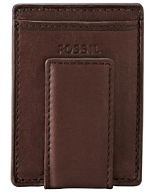 Men's Neel Leather Magnetic Card Case