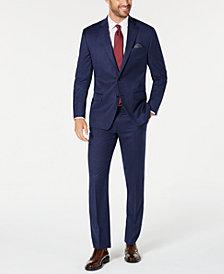 Lauren Ralph Lauren Men's Classic-Fit UltraFlex Stretch Blue Solid Suit Separates