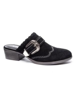 Waltz Split Western Mules Women's Shoes