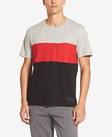 DKNY Men's Interlock Colorblocked T-Shirt