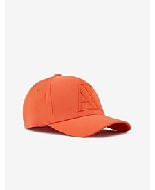 A|X Armani Exchange Men's 3D Rubber Logo Baseball Cap
